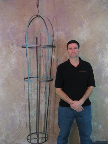 Iron Skeleton Cage, Life-Size