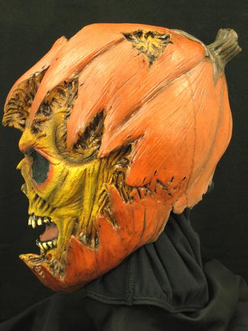 Monster Pumpkin Halloween Horror Latex Mask Prop NEW   eBay
