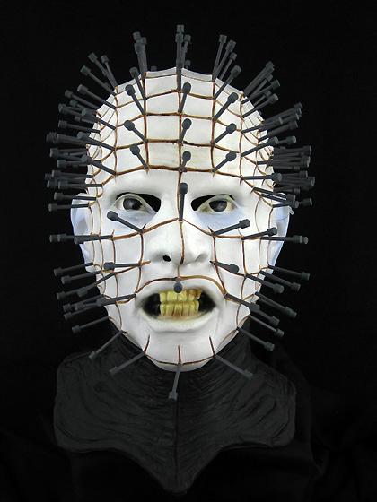 pinhead deluxe hellraiser halloween mask or prop