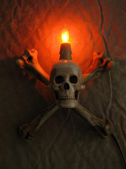 Halloween Wall Lights : Skull Humerus Bone Wall Sconce, Halloween Prop, Skulls eBay