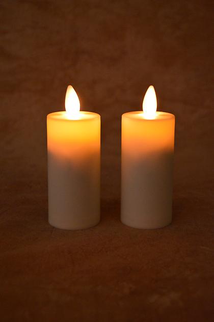 Liown Lightli Moving Flameless Votive Candles 2 In Pkg